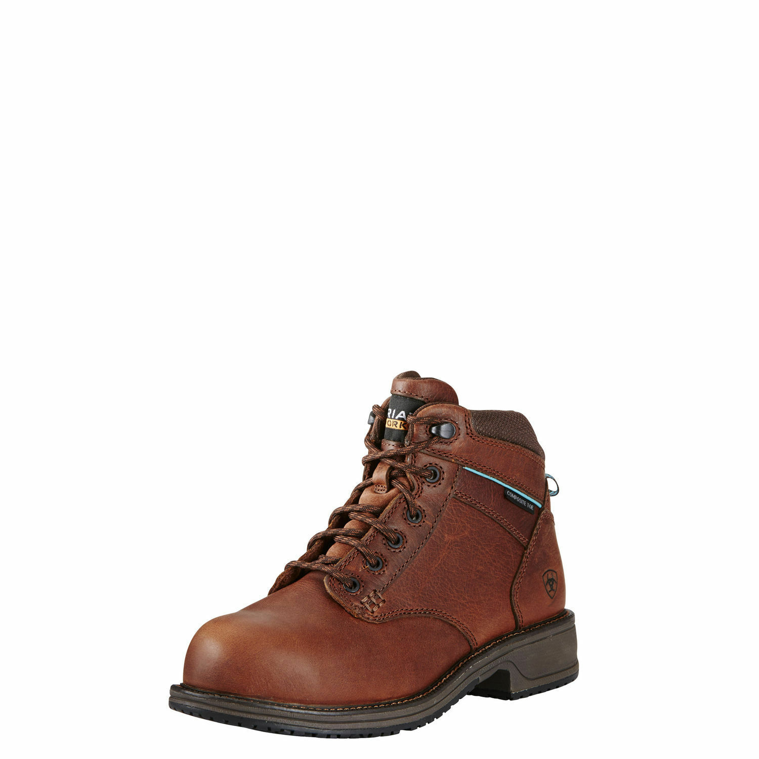 Ariat Women's Brown Casual Composite Toe Lace Up Work Boots 10020097  SALE