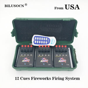 Profession-12-Cue-Wireless-Fireworks-Firing-system-Remote-control