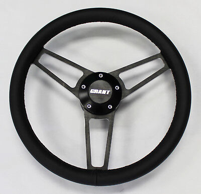 "67-68 Wilcat Skylark LeSabre Electra steering wheel BUICK 14 3//4/"" VINTAGE BLACK"