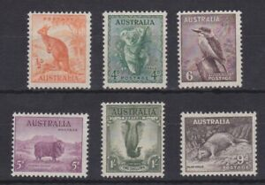 APD381-Australia-1937-38-Zoological-series-MUH-Price-106-50