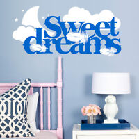 Sweet Dreams vinyl wall art sticker Modern Quote Home  Kids  Bedroom Decoration