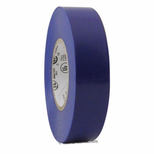 "10 Rolls Blue Vinyl PVC Electrical Tape 3//4/"" x 66/' Adhesive Free Shipping"