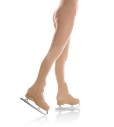 Mondor 3372 Women/'s Size Large Suntan Boot Cover Skating Tights