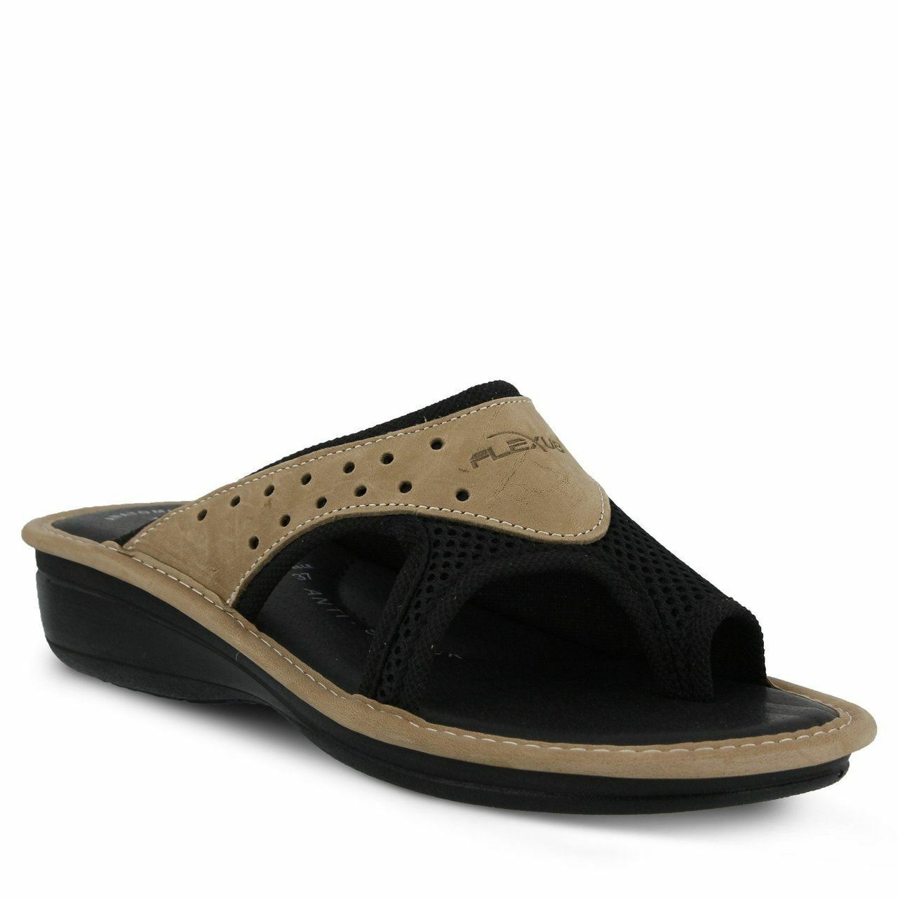 Spring Step Flexus Women's Pascalle Slide Sandal Black