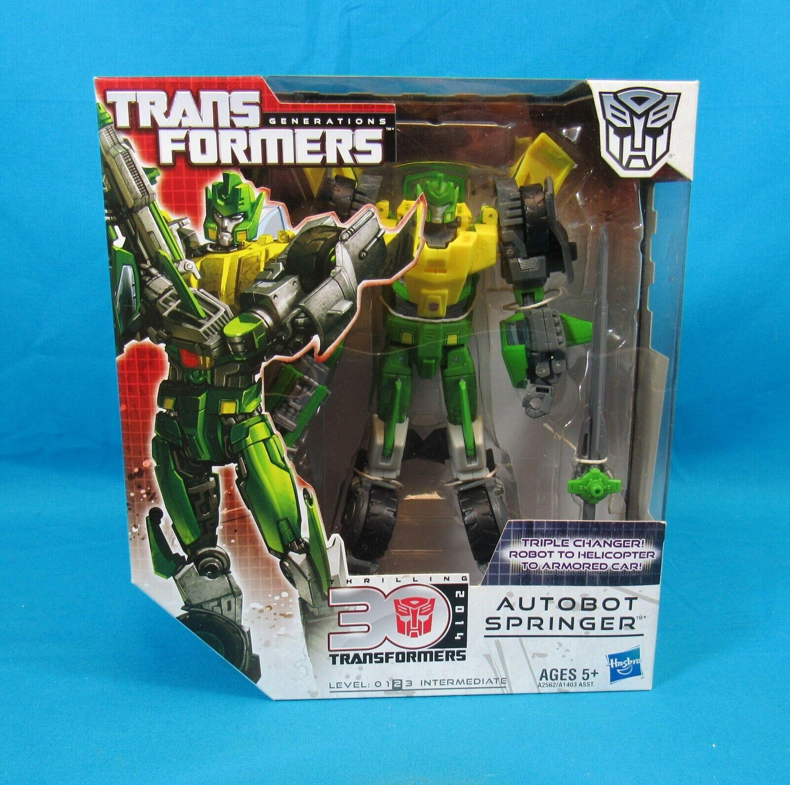 Hasbro Transformers Generations Thrilling 30 2014 Springer nuovo  in scatola Sealed  risparmia fino al 70%