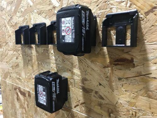 10x BLUE Battery Mounts for Makita 18v LXT Li Ion Batteries Holders Wall Hanger