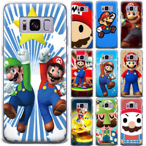 Anime-Super-Mario-Brother-Pattern-Phone-Case-Cover-For-Samsung-Galaxy-Series