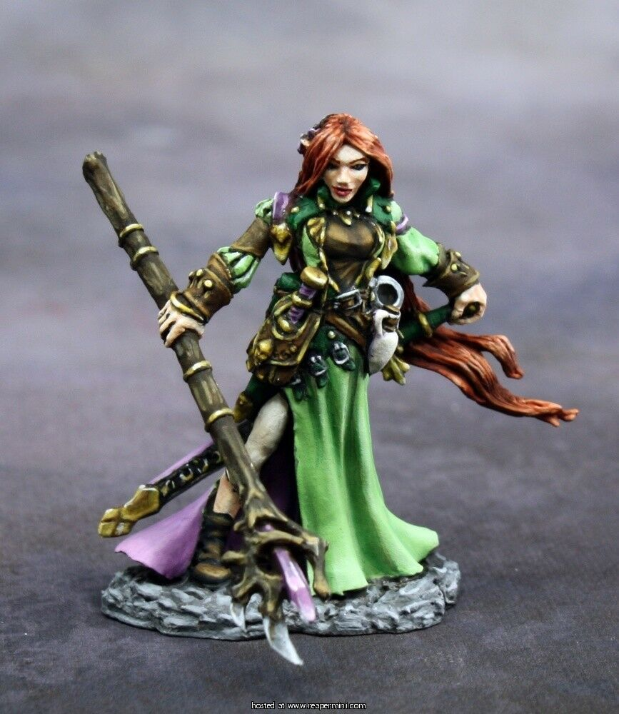 REAPER MINIATURES DARK HEAVEN - 01609 25th Anniversary, Lysette  Special