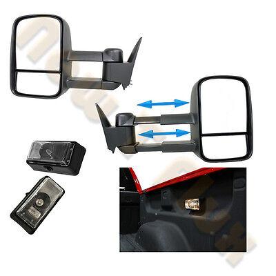2 Truck Bed Lights Chevy GMC Truck Suburban C//K 1500 2500 3500 Tow Mirror L/&R