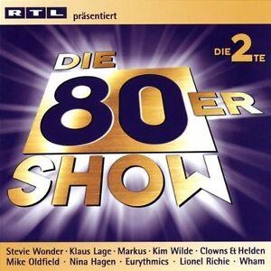 Die-80er-Show-Die-2te-RTL-2002-39-tracks-Nena-Clowns-amp-Helden-Udo-2-CD