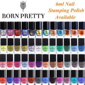 Born-Pretty-Para-Unas-Stamping-polaco-placa-de-impresion-colorida-CAMALEoN-TERMICO