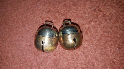 brass /& argent chien Great Sound Fauconnerie chat Bells deux de traction Acorn Bell paire