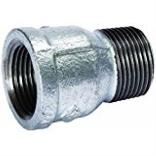 Extension Piece Galvanized 1//2