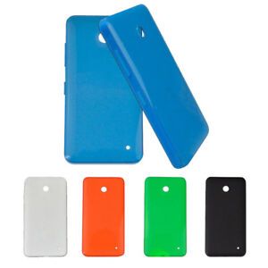 newest 0223c 465a7 Details about New OEM Original Housing Battery Back Cover Shell Case For  Nokia Lumia 630 635