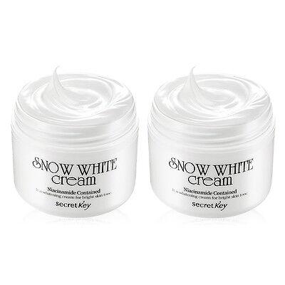 [SECRET KEY] [1+1] Snow White Cream 50g / Whitening functional skin-tone