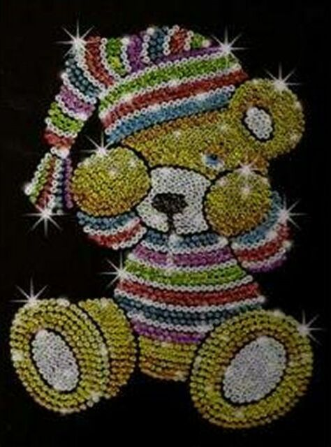 Sequin Art Teddy Bear Craft Kit (SA0616)