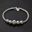 Retro-Charm-Women-925-Silver-Plated-Bangle-Chain-Beads-Pendant-Bracelet-Jewelry thumbnail 4