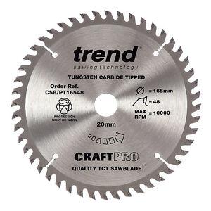 Trend Csb 16548b 165mm Circular Saw Blade For Makita Plunge Saws