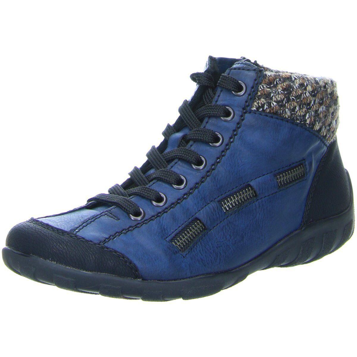 Rieker Damen Damen Damen Stiefeletten L6543-00 00 blau 341804 a0cdbd