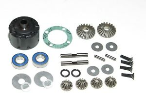 XRA350203-XRAY-XT8-2017-TRUGGY-DIFFERENTIAL-REBUILD-KIT-BEVEL-GEARS