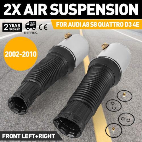 st Front Air Suspension Spring Bag Fit 02-20 Audi A8 D3 4E Shock Strut Pair ge