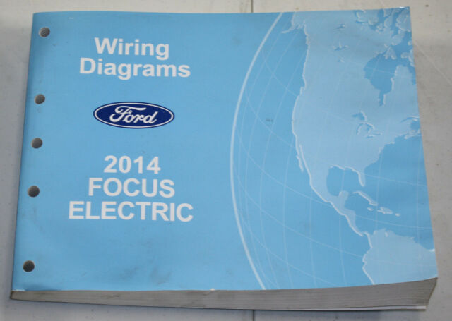 2014 Ford Lincoln Service Wiring Diagram Manual Focus