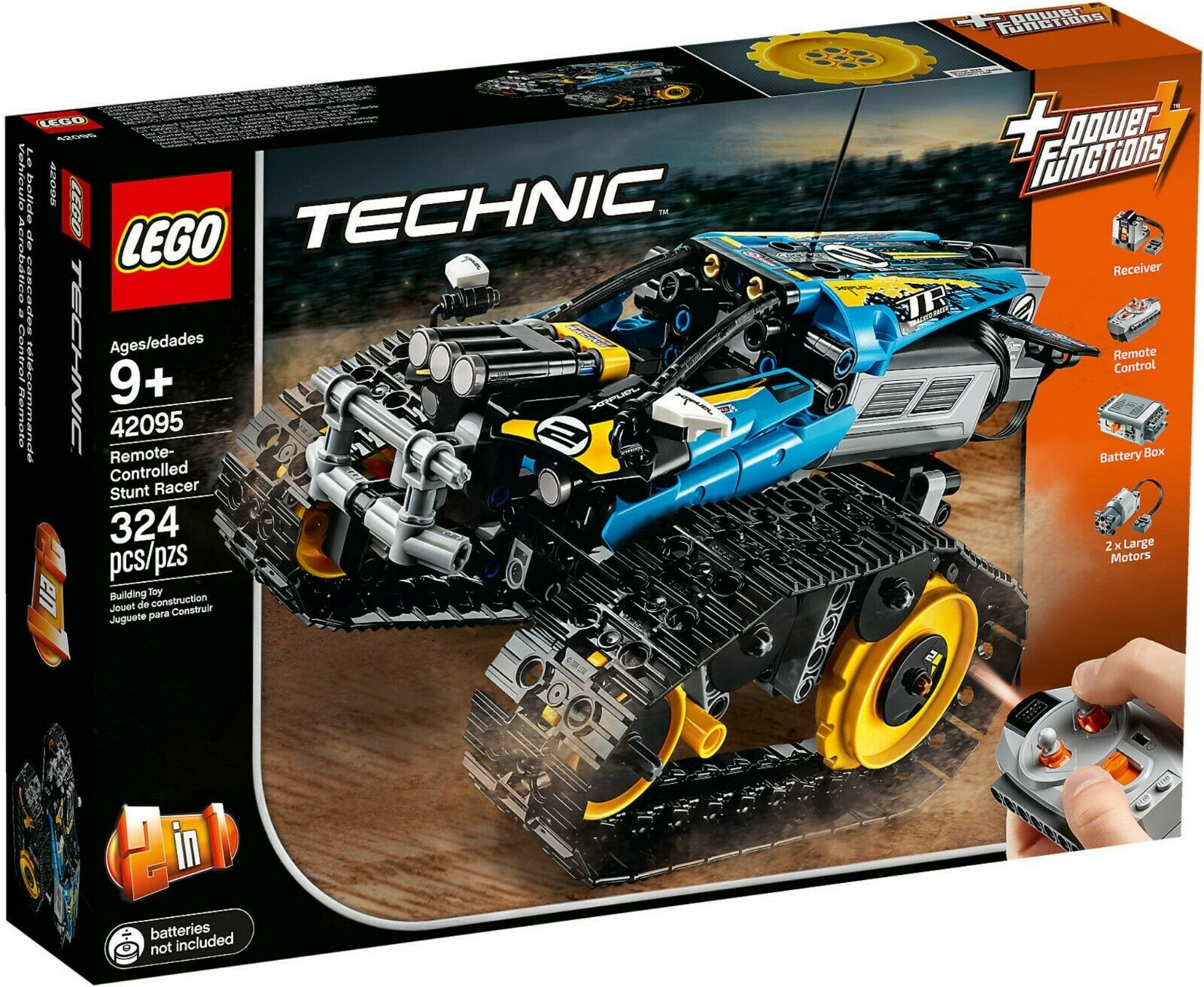 LEGO Technic 42095  - Remote controlled stunt racer   nouveau sealed   Neuf scellé  2018 magasin