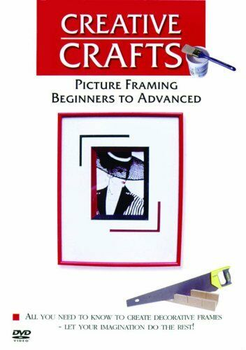 Picture Framing - Beginners To Advanced (DVD, 2008) New and Sealed