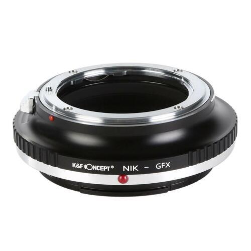Nik-gfx K/&f concept adaptador Nikon F objetiva en Fuji GFx Mount cámara