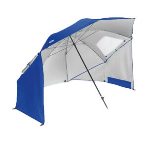Image Is Loading Portable Sun Shelter Umbrella Canopy Blue Quick Pop