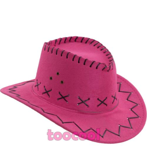 Hat baby boy//girl kids COWBOY suede carnival celebration party HUT9