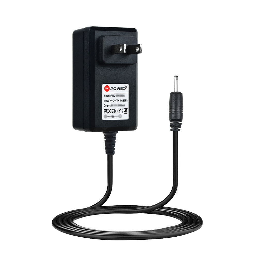 AC DC Wall Charger Power Adapter For Nextbook Ares 10L NXA101LTE116 Tablet PC