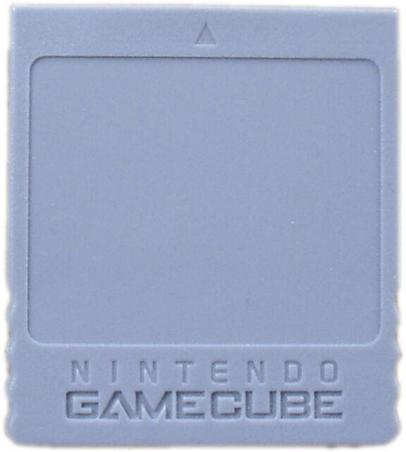 Nintendo OEM GameCube Memory Card 59 Very Good 9Z