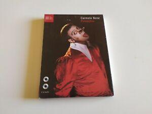 DOPPIO CD RARO 2CD + TESTO - CARMELO BENE - PINOCCHIO - LUCA SOSSELLA EDITORE