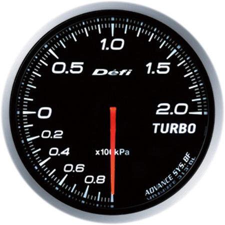 - 100kPa a +200kPa 60 mm Blanco DF09901 Defi Advance Bf Turbo Boost meter