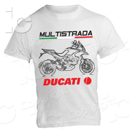 T-Shirt Ducati Multistrada Reise Desmo Racing Enduro Straßenkraft Italie Jersey