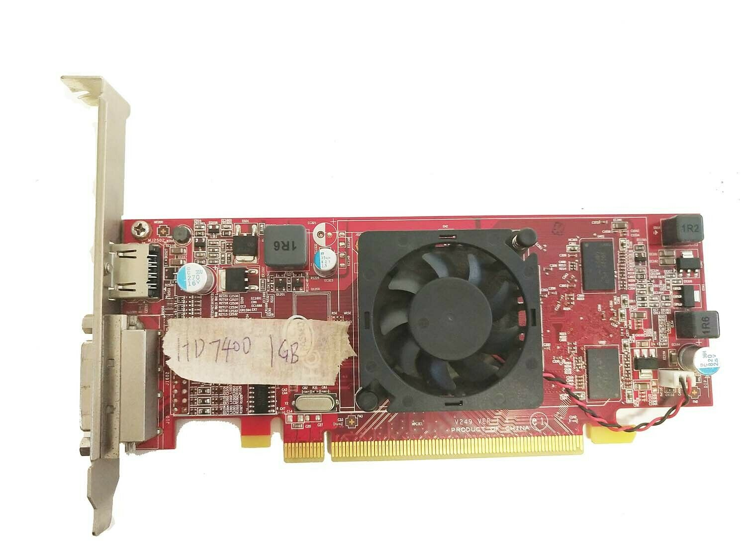Video Graphic Card For HP AMD HD7450 DORY2 FH 1G PCIEX16 695637-001 702646-001