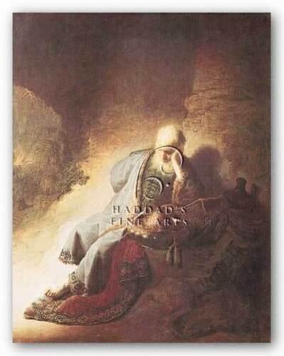 MUSEUM ART PRINT The Prophet Jeremiah Rembrandt 8x10 Haddads