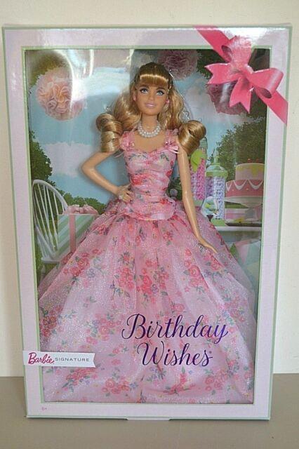 2018 Pink Label Blonde BIRTHDAY WISHES Barbie BRAND NEW
