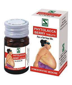 Willmar Schwabe Phytolacca Berry Tablets 20g Reduces Obesity Fat
