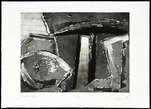 DDR-Kunst-034-Steinbild-034-1988-Aquatinta-Christian-LANG-1953-D-handsigniert