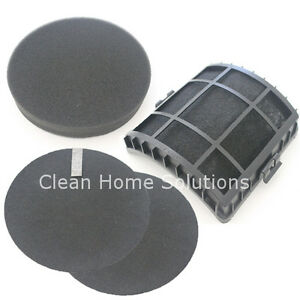 Genuine-Bissell-4-Replacement-Filter-Set-Model-12118-For-PowerGlide-Pet-Vacuums