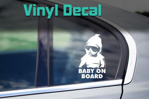 Baby On Board Decal | The Hangover Carlos Car Window Vinyl Sticker