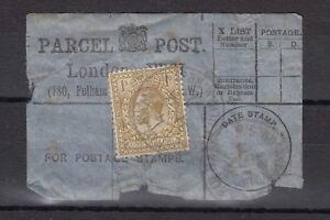 GB-KGV-1925-1-Parcel-Post-Label-X9432