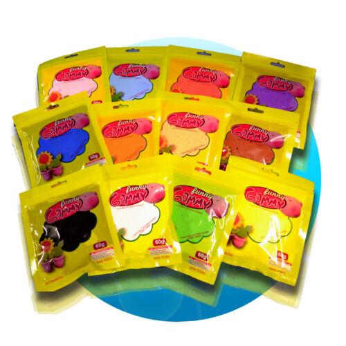 Hüpfknete Springknete Soft Knete Hüpfknete extra weich leicht 60g 2,48€//100g