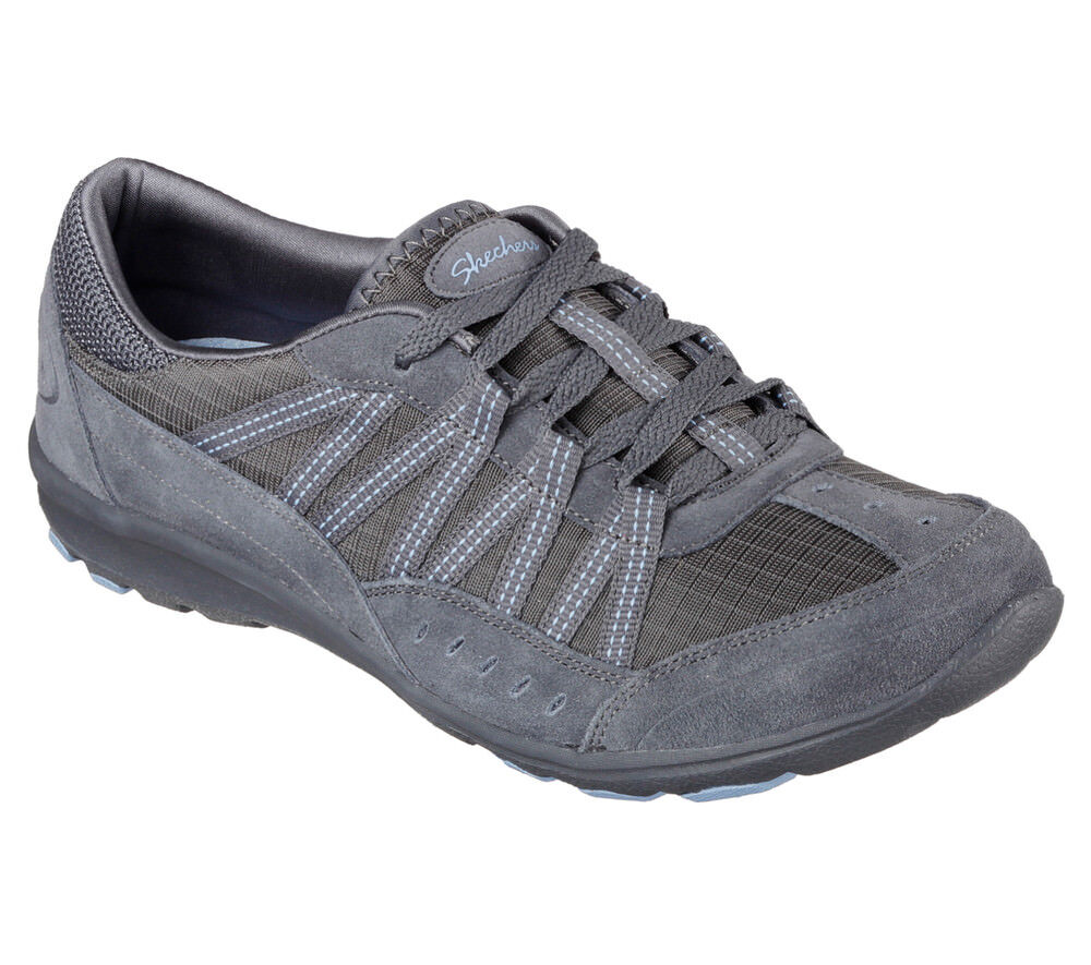 NEU DREAMCHASER SKECHERS Damen Sneakers Turnschuh Memory Foam DREAMCHASER NEU - SKYLARK Grau 496162