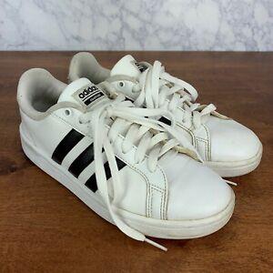 Details about ADIDAS Men's Size 7 Sneakers Cloudfoam Advantage Black Stripe Shoes Style AW4287