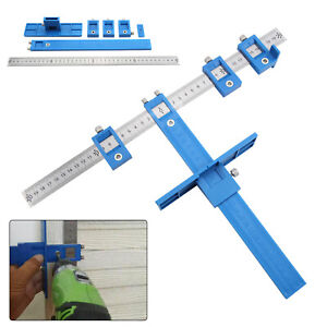 Details about New Drill Guide Sleeve Punch Locator Cabinet Hardware Jig  Drawer Pull Wood Dowel