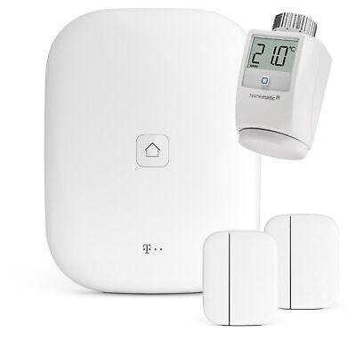 Einsteigerpaket Magenta SmartHome Heizkörperstellantrieb HomeBase Fensterkontakt