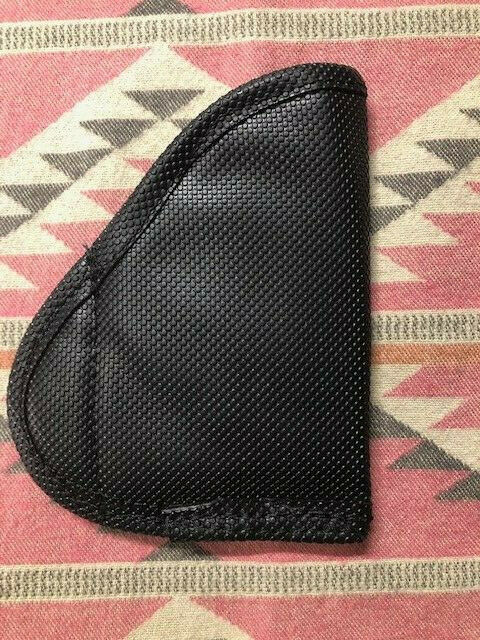 Pocket Holster for S&W BODYGUARD 380 / LCP Diamond Embossed Sticky Fabric